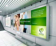 Nucleotide Nutrition Corporate Identity & Advertising by Deane Biggart, via Behance