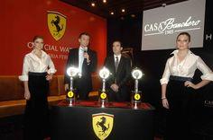 Casa Banchero presentó la línea de relojes Hublot Ferrari
