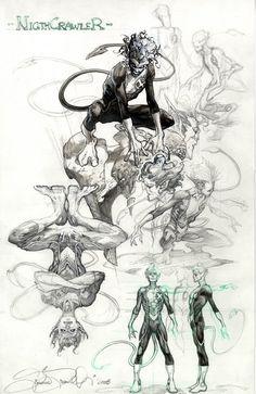 Más artes de Simone Bianchi para Astonishing X-Men   Neoverso