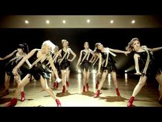"""""""Let's Step Up,"""" song and tap dance by the girls of After School. intro track from their first full-length album """"Virgin"""""""