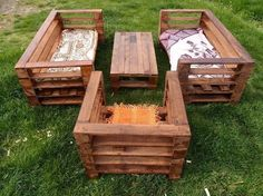 Wooden Pallet Garden Project