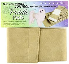 Snoozer Pet Piddle Pads Sanitary Wraps Medium Camel -- Check this awesome product by going to the link at the image. (This is an affiliate link) Dog Chew Toys, Dog Toys, Dog Itching, Dog Training Pads, Dog Dental Care, Dog Shower, Dog Food Storage, Dog Shedding, Dog Diapers