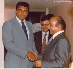 Mohammad Ali with Mohammad Rafi http://hindimp3download.net/rafi.html