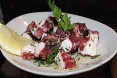 Octopus salad. (Insalata di polpo)