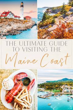 Maine Road Trip, Road Trip Usa, Famous Lighthouses, East Coast Usa, Northern Maine, Visit Maine, Acadia National Park, Vacation Spots, Vacation List
