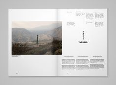 Quaderns Architecture magazine | MagSpreads | Magazine Layout Inspiration and Editorial Design