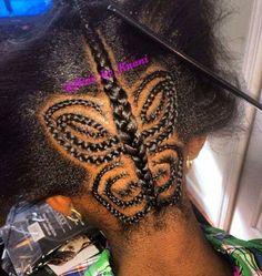 Butterfly braid