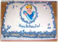princess cake for a birthday ...