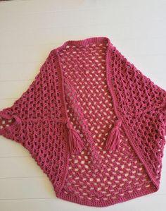 Crochet Home, Knit Crochet, Crochet Blouse, Shrug Sweater, Shawl, Cardigans, Crochet Patterns, Kimono, Pullover