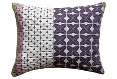 Clee 17x14 Pillow, Purple on OneKingsLane.com