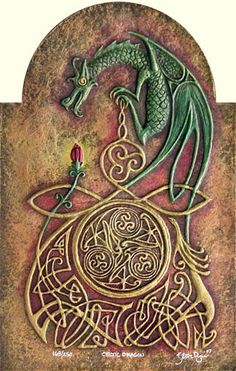 Celtic Dragon by Celtic Artist, via Flickr