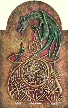 Celtic Dragon by Celtic Artist, via Flickr