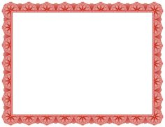 Fancy red border for creating award certificates. Free downloads at http://pageborders.org/download/red-certificate-border/