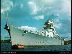 German battleship, The Bismarck of WW2