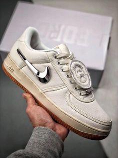 47409eb8c9f3 Nike Air Force 1 x Travis Scott AF1 3M AQ4211-101 Air Force 1