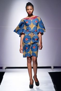 Nyaradzai @ Zimbabwe Fashion Week 2013 - Day 2 | FashionGHANA.com