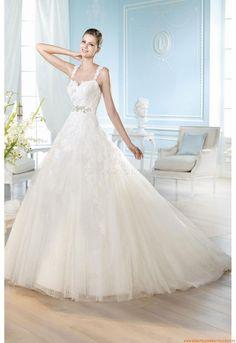 Ärmallos  Elegante Brautkleider