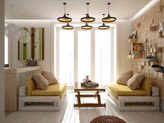Gorgeous living room design with yellow accent...   Visit : roohome.com  #livingroom #decoration #design #fabulous #unique #simple #creative #interior #elegant