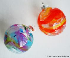Diy Crayon Drip Holiday Ornaments Fun Idea Good For Gifts From