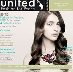 Main cover for Batucada Acacia necklace in the United Fashion for Peace May edition !