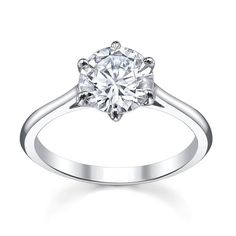 Classic Solitaire Gen1513 Engagement Ring