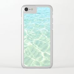 20% Off + Free Worldwide Shipping on Phone Cases Today! -  All Clear Clear iPhone Case by ARTbyJWP from Society6 #iphonecases #clearcases #sea #phonecases #society6cases #beach #artbyjwp - Shop clear iPhone cases featuring brilliant patterns and designs on frosted, transparent shells - created by the world's best independent artists.