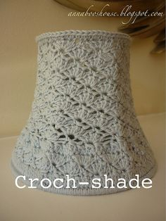 crochet a lampshade