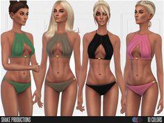 Swimwear Found in TSR Category 'Sims 4 Female Swimwear'