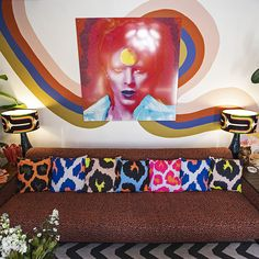 Mixing and matching patterns can be tricky, but done well it opens the door to greater depth, daring and playfulness. Decor Interior Design, Interior Decorating, Something Beautiful, Patterns, Style, Block Prints, Swag, Decor, Interior Design