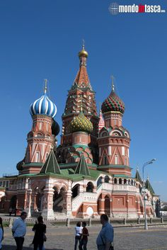 Nonostante si trovi sulla #piazzarossa, la chiesa di #sanbasilio non fa parte del #cremlino.