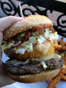 The Dirty Sanchez Baja Burger