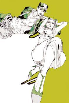 Jojo's Adventure, Jojo Bizzare Adventure, Bizarre Art, Jojo Bizarre, Blue Exorcist, Manga Art, Manga Anime, Inu Yasha, Jojo Parts