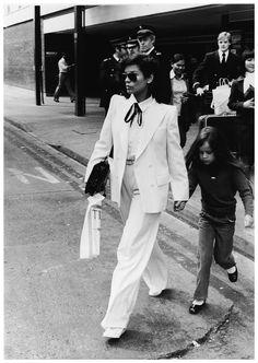 Bianca Jagger and Jade London, 1979