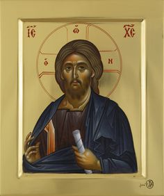 Expozitie 2019 - Lucrari Byzantine Icons, Orthodox Christianity, Orthodox Icons, Christian Art, Ikon, Fresco, Jesus Christ, Baseball Cards, Image