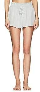 Raven & Sparrow by Stephanie Seymour Women's Holly Silk Georgette Shorts-Blue Stephanie Seymour, Luxury Gifts, Designing Women, Raven, Short Dresses, Silk, Shorts, Fashion Design, Blue