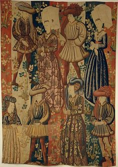 Courtiers in a Rose Garden - 1440-50 - South Netherlandish: