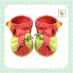 PATTERN PT004  Crochet Baby Booties Baby by PatternsDesigner, $4.99