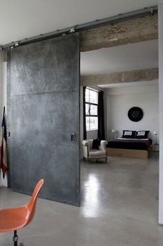 thegiftsoflife: http://thegiftsoflife.tumblr.com/ Doors. Raw Materials. STEEL!