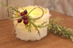 How+To+Make+Snowball+Mason+Jar+Candleholders