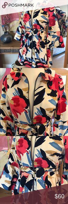 Selling this Ivy Jane zip/tie jacket on Poshmark! My username is: palm78. #shopmycloset #poshmark #fashion #shopping #style #forsale #Ivy Jane #Jackets & Blazers