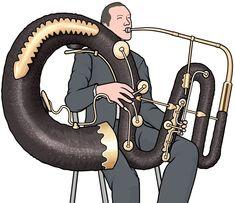 管楽器:コントラバス セルパン