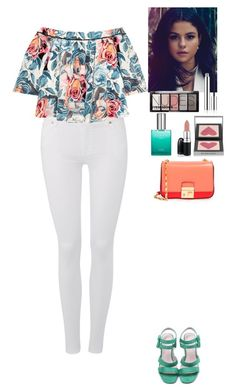 """Spring outfit"" by eliza-redkina ❤ liked on Polyvore featuring 7 For All Mankind, Elizabeth and James, CLEAN, H&M, Burberry, David Jones, Michael Kors, StreetStyle, outfit and like"