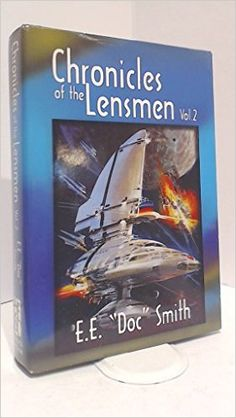 Chronicles of the Lensmen Vol 2 Last two books of the Lensmen series  https://www.amazon.com/Chronicles-Lensmen-Vol-E-E-Smith/dp/0739402625/ref=pd_sim_14_1?_encoding=UTF8