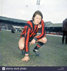 February Huddersfield Town footballer Frank Worthington prior to playing Charlton at the Valley. Huddersfield Town Fc, Frank Worthington, Class Games, Football Kits, Terriers, Premier League, February, Stock Photos, Times