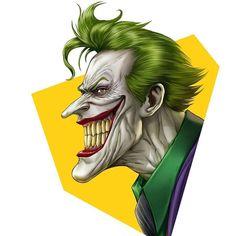 The Joker by Dominic Glover Dc Comics, Marvel Comics Superheroes, Marvel Dc, Bane Batman, Batman Art, Venom Spiderman, Batman Joker Wallpaper, Gotham Villains, Joker Images