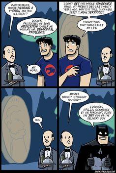 Batman on meds <----- xD