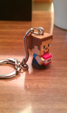 Hey, I found this really awesome Etsy listing at https://www.etsy.com/listing/225088579/minecraft-steve-with-tnt-latching
