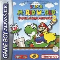 Super Mario World Advance 2 game for Nintendo Gameboy Game Boy Advance