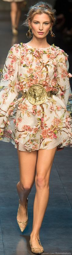Dolce & Gabbana | S/S 2014 RTW  Keep it going Dolce and Gabbana this is delightful