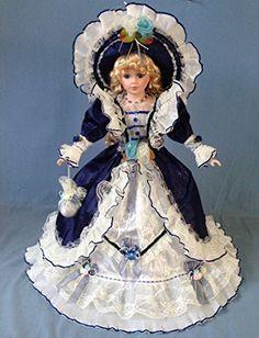 Porcelain Or China Porcelain Dolls Value, Porcelain Dolls For Sale, Porcelain Tiles, Victoria Fashion, Victoria Style, Girl Dolls, Baby Dolls, Rose Hat, Victorian Dolls